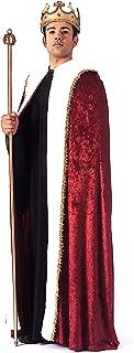 Costume Burgundy Velvet King's Cape