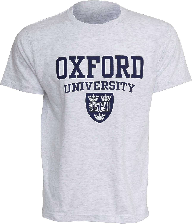 Oxford University- Camiseta de manga corta para Hombre