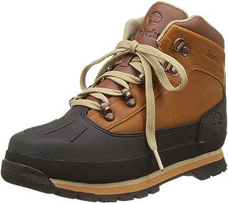 Timberland Euro Hiker Shell Toe Boot Rust/Copper Big Kids A1LTTD31, A1LTT