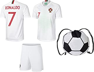 portugal soccer jersey white