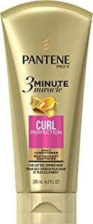 Pantene Curl Perfection 3 Minute Miracle Curl Perfection Deep Conditioner, 6 Fluid Ounce
