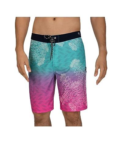 Hurley 20 Phantom Sig Zane Wailehua Boardshorts (Digital Pink) Men