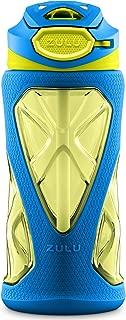 ZULU Torque Kids Tritan Plastic Water Bottle with Silicone Sleeve