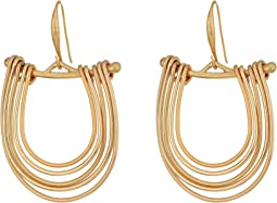 Robert Lee Morris - Gold Gypsy Hoop Earrings