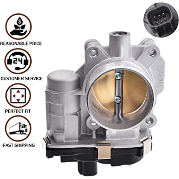 MUSCOLOTECH Professional Electronic Throttle Body Assembly for Buick Chevrolet GMC Pontiac Saturn 2.4L Cars.