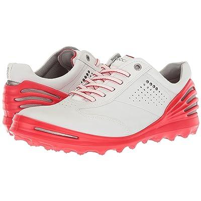 ECCO Golf Cage Pro (White/Scarlet) Men