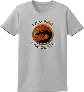 TooLoud I Am Fire I Am Death Womens T-Shirt