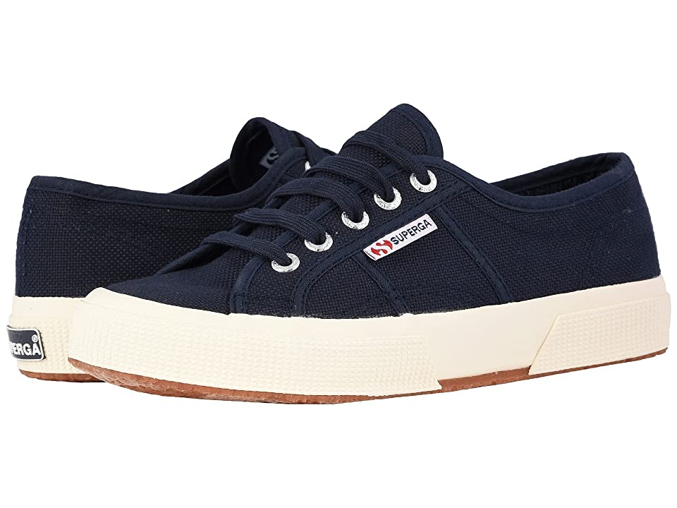 Superga 2750 COTU Classic Sneaker (Navy) Lace up casual Shoes
