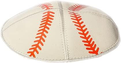 Baseball Yarmulke Jewish Kippah Leather Judaica Yamaka Yamakah Skullcap Men Kids