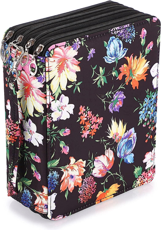 BTSKY Colored Pencil Case- 160 Bag Cheap super Popular shop is the lowest price challenge special price Slots Holder Pen Large