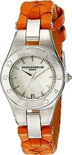 Baume & Mercier - Baume&Mercier Reloj Analógico para Mujer de Cuarzo con Correa en Cuero M0A10115