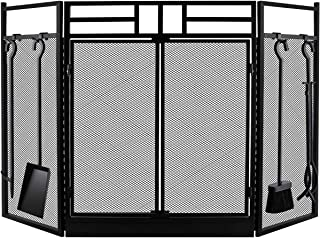 Best wood fireplace screens doors Reviews