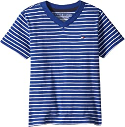 Tommy Hilfiger Kids Short Sleeve Tee (Toddler/Little Kids)