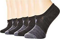 Originals Blocked Space Dye Super No Show Sock 6-Pack