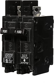 Siemens BQ2B100H 100-Amp Double Pole 120/240-Volt 22KAIC Lug In/Lug Out Breaker
