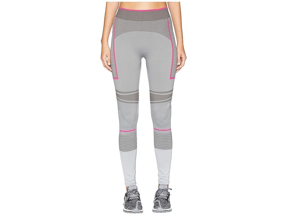 adidas by Stella McCartney Training Seamless Tights DM7604 (Mid Grey/Bold Pink) Women