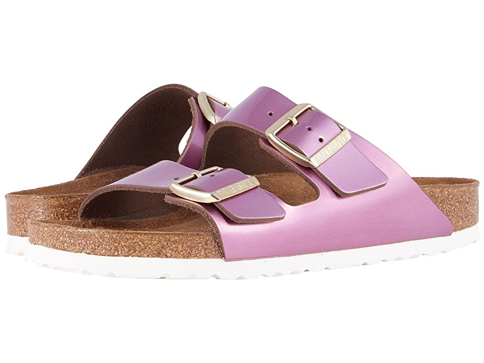 Birkenstock Arizona Soft Footbed (Spectacular Rose Leather) Women