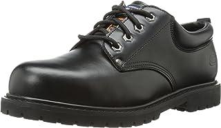 حذاء عمل رجالي من Skechers for Work مصنوع من القطن - Cropper Steel Toe