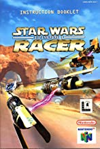 Star Wars Episode 1 Racer N64 Instruction Booklet (Nintendo 64 Manual Only) (Nintendo 64 Manual)
