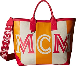 MCM Women's Ilse Canvas Shopper Medium