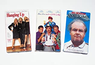 Comedy Video Collection (3pk): Hanging Up; Three Men and a Little Lady; About Schmidt