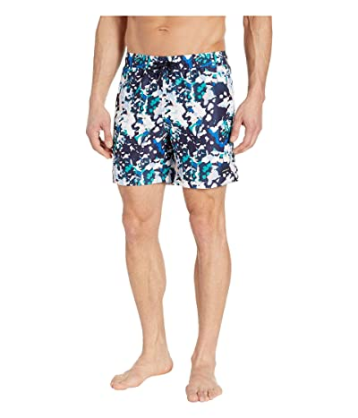 Perry Ellis Printed Swim Shorts (Dynasty Green) Men