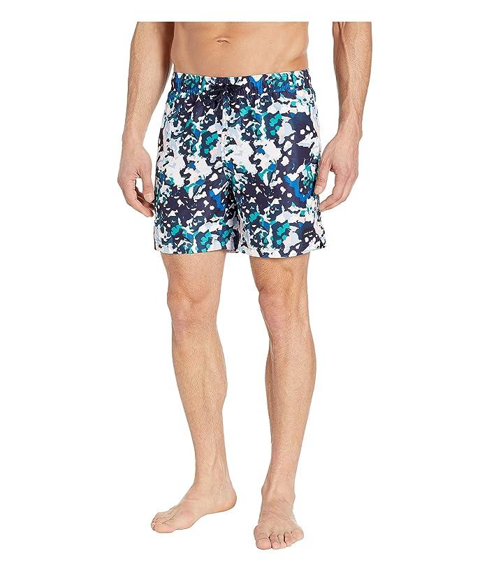Perry Ellis  Printed Swim Shorts (Dynasty Green) Mens Swimwear