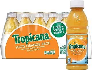 Tropicana Orange Juice, 10 Ounce (Pack of 24)