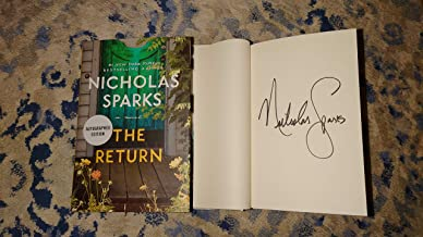 Nicholas Sparks - The Return (Autographed Copy - Signed Book - First Edition First Printing)