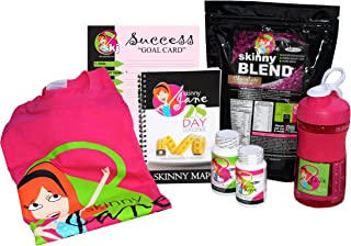 Skinny Jane - 28 Day Weight Loss Challenge - Lose Weight and Slim Your Body - You Can Lose 20 Pounds in Just 28 Days - Everything You Need to Slim Down Fast and Lose Belly Fat (Chocolate, Large)