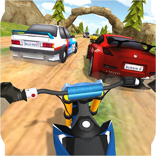 Dirt Bike Rally Racing Turbo - Offroad Motorcycle Games
