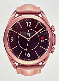 Samsung Galaxy Watch3 2020 Smartwatch (Bluetooth + Wi-Fi + GPS) International Model (Bronze, 41mm)