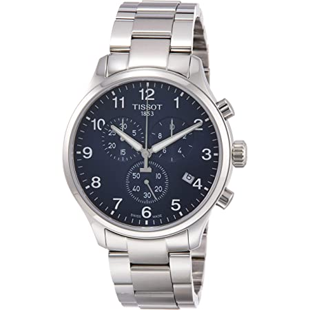 Tissot mens Tissot Chrono XL Stainless Steel Casual Watch Grey T1166171104701
