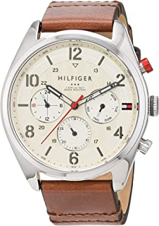 Tommy Hilfiger Womens Quartz Watch, Analog Display and Stainless Steel Strap 1791208
