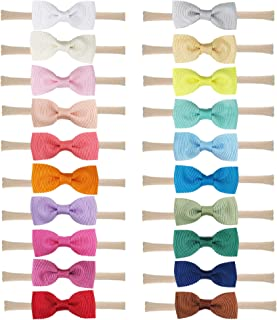 Baby Nylon Headbands Hairbands Hair Bow Elastics for Baby Girls Newborn Infant Toddlers Kids by Prohouse