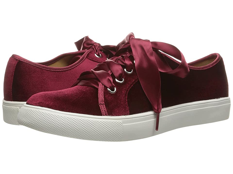 Dirty Laundry Fillmore Velvet Sneaker (Merlot Rich Velvet) Women