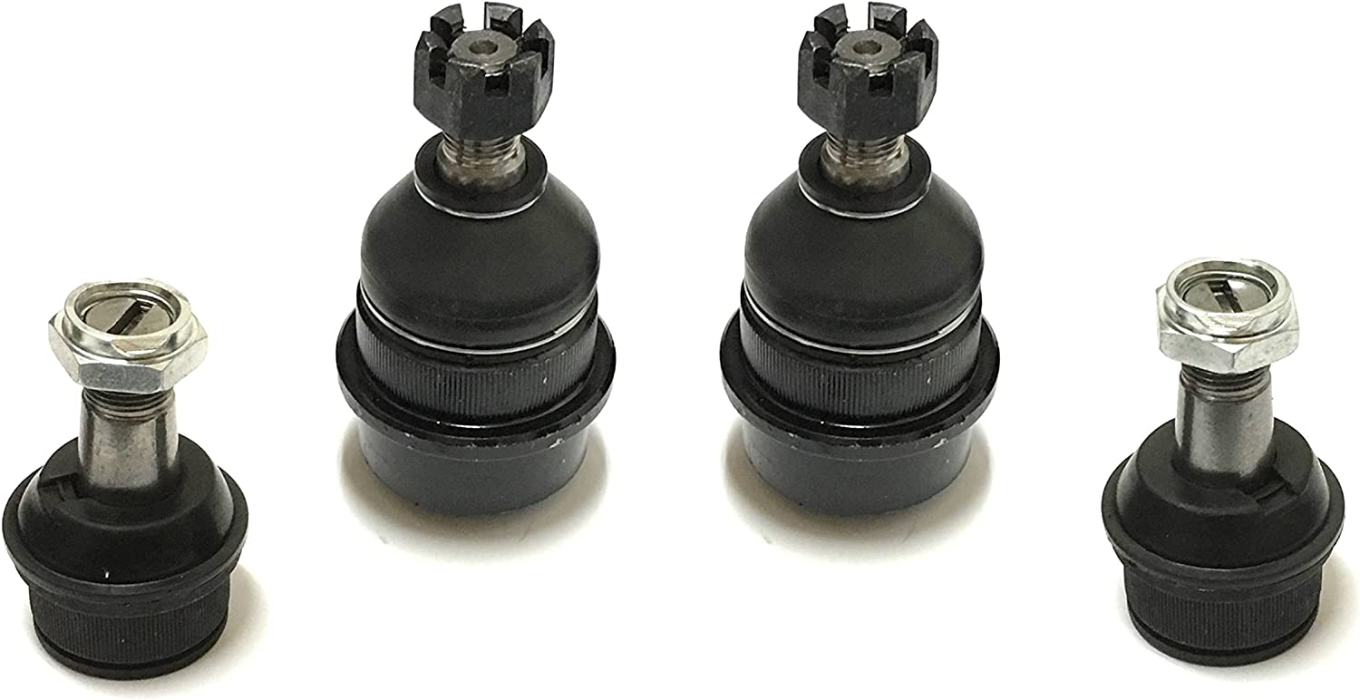 4 Piece Suspension kit Lower and Upper Ball Joints