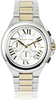 Michael Kors Women's MK5653 Camille Silver- and Gold-Tone Stainless Steel Watch