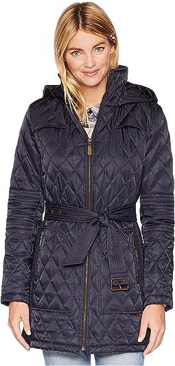 Belted Quilt Jacket L1361
