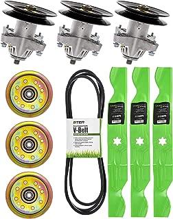 8TEN Blade Spindle Belt Idler Deck Rebuild Kit for 50 Inch Deck Cub Cadet RZT 50 942-04053C 954-04044 918-04125B
