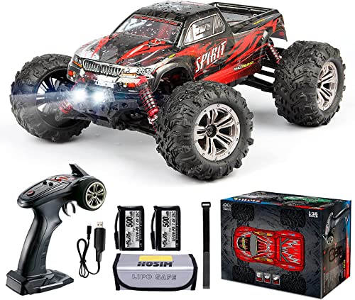 Hosim 1:16 Scale 4WD 36km/h High Speed RC Truck 9135 Remote Control RC Car 2.4Ghz Radio Controlled Off-Road RC Monste...