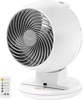 IRIS USA 586806Woozoo, Remote Controlled Whole Room Oscillating Circulating Fan, 1 Pack, White