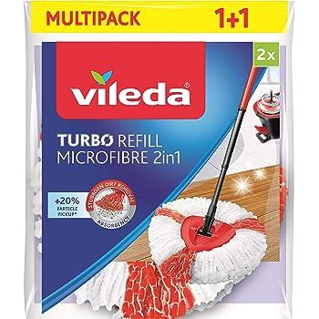 Vileda VIL126896 32 mm y 38 mm Pico Giratorio para Suelo