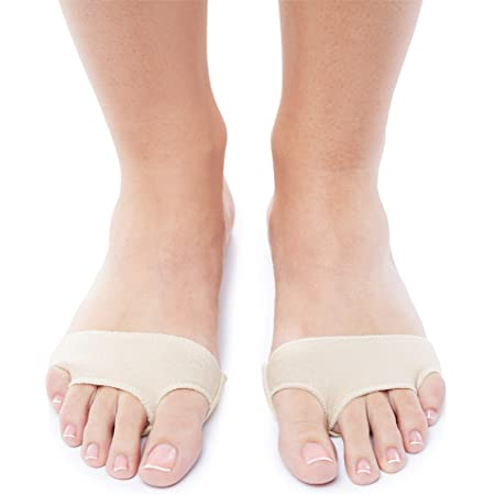 Elastic Gel Forefoot Silicone Shoe Pad Foot Support Insole Cushions Pain U D8F2