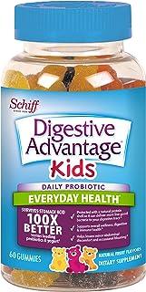 Digestive Advantage, Probiotic Gummy for Kids, Digestive Advantage 60 gummies, Gluten-Free, Survives 100x Better, Assorted...
