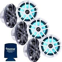 "$649 » Sponsored Ad - Memphis Audio LED Marine Speaker Pack: 3 Pairs of MXA80L 8"" Marine Grade, Included Black and White Grills w..."