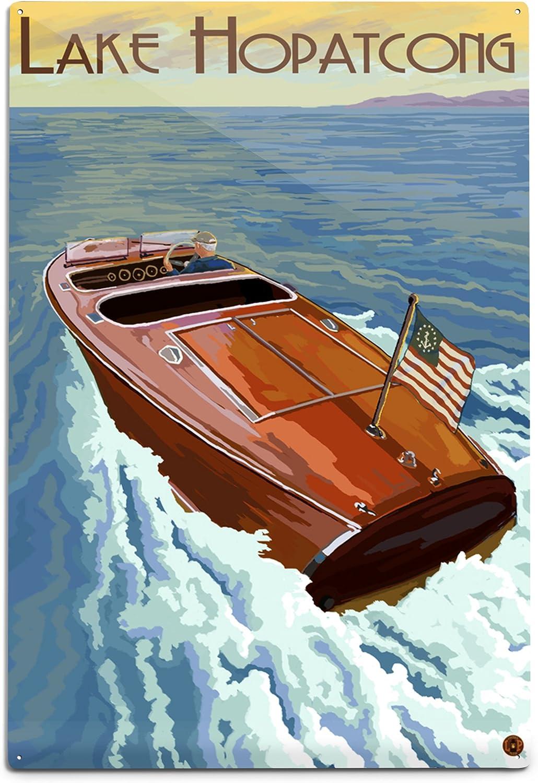 Very popular Lantern Press Lake Hopatcong New 1 Jersey on Topics on TV Boat Wooden