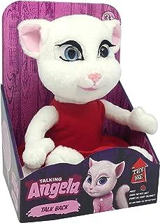 Dragon-i Toys 80845MI Mini Talking Angela, White
