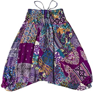 Lofbaz Kid's Patch Harem Pants