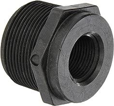 Banjo RB150-075 Polypropylene Pipe Fitting, Reducing Bushing, Schedule 80, 1-1/2 NPT Male x 3/4